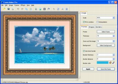 Frame Maker Pro Screenshot