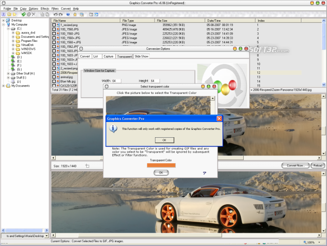Graphics Converter Pro 2013 Screenshot 2