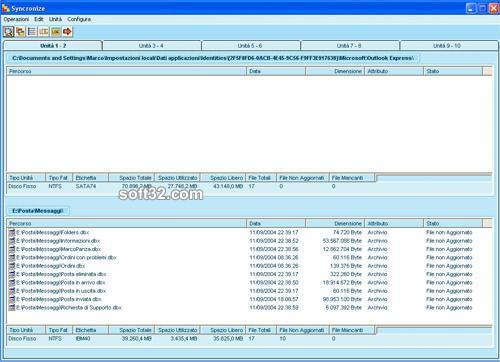 Syncronize Backup Screenshot 2