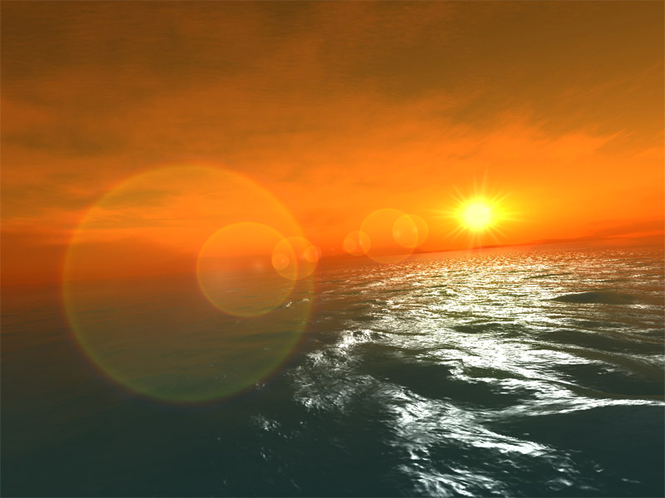 Fantastic Ocean 3D Screensaver Screenshot 1