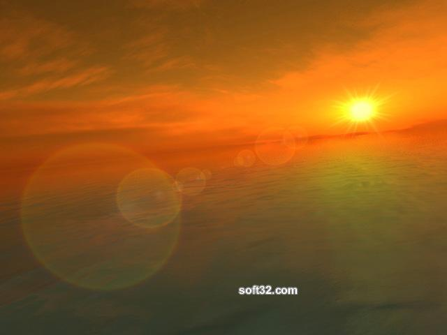 Fantastic Ocean 3D Screensaver Screenshot 2