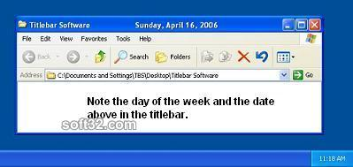 Titlebar Date Screenshot 2