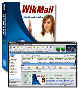 WikMail Screenshot