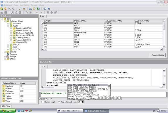 SQL Assistant for Oracle Screenshot 2
