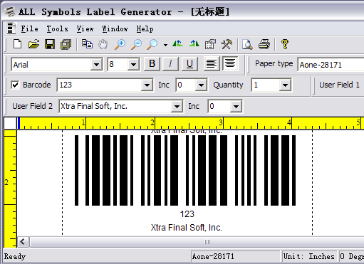 ALL Symbols Label Generator Screenshot