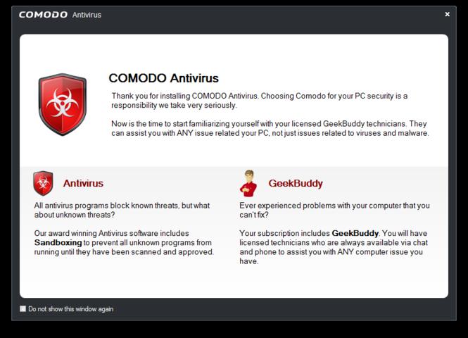 Comodo Antivirus Screenshot 3
