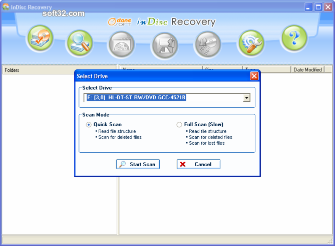 inDisc Recovery Screenshot 4