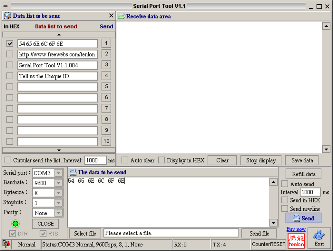 tenloncom Screenshot 1