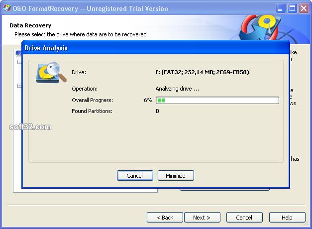 O&O FormatRecovery Screenshot 4