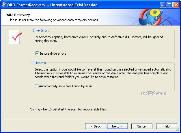 O&O FormatRecovery Screenshot 5