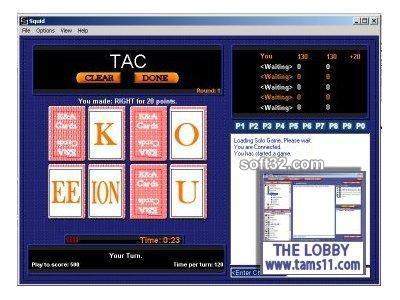 Tams11 Squid Screenshot 3