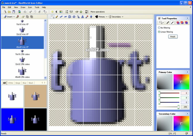 RealWorld Icon Editor Screenshot 4