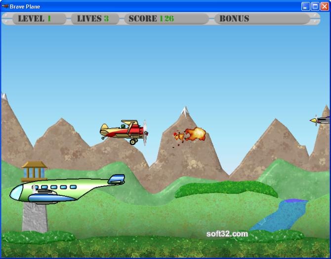 Brave Plane Screenshot 3