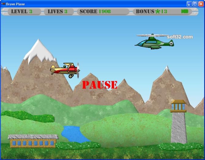 Brave Plane Screenshot 4
