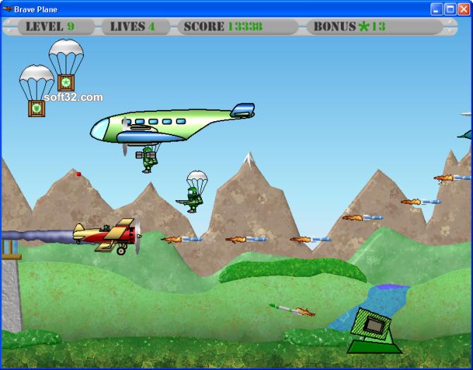 Brave Plane Screenshot 5