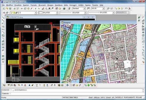 progeCAD 2009 Professional IntelliCAD Screenshot 1