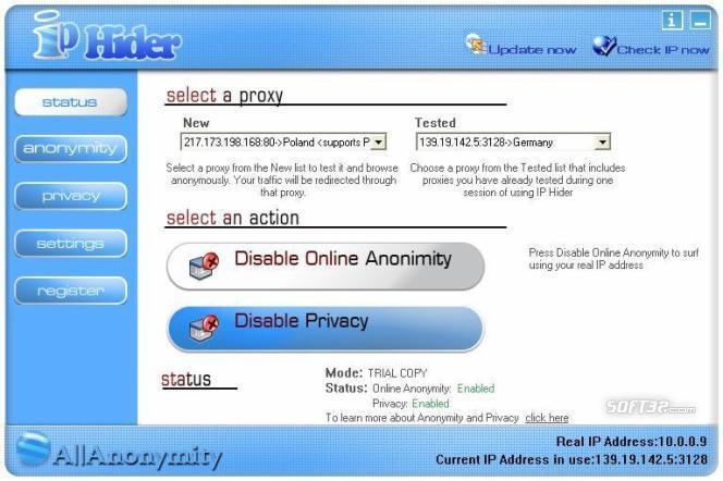 IP Hider Screenshot 2
