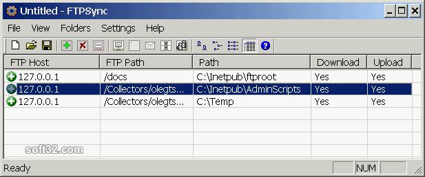 FtpSync Screenshot 2