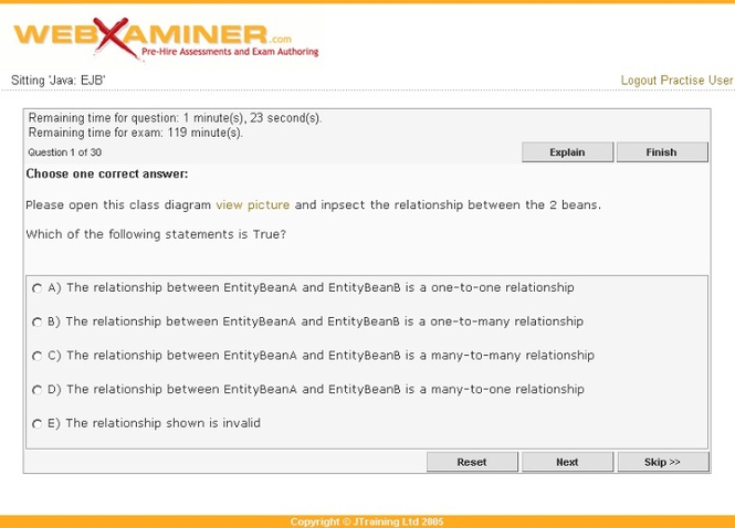 WebXaminer Screenshot