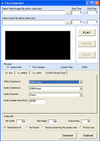 VISCOM Video Editing ASP.Net SDK ActiveX Screenshot