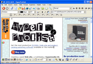 HyperPublish - Web CD product catalog Screenshot