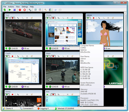 LANVisor Screenshot 1