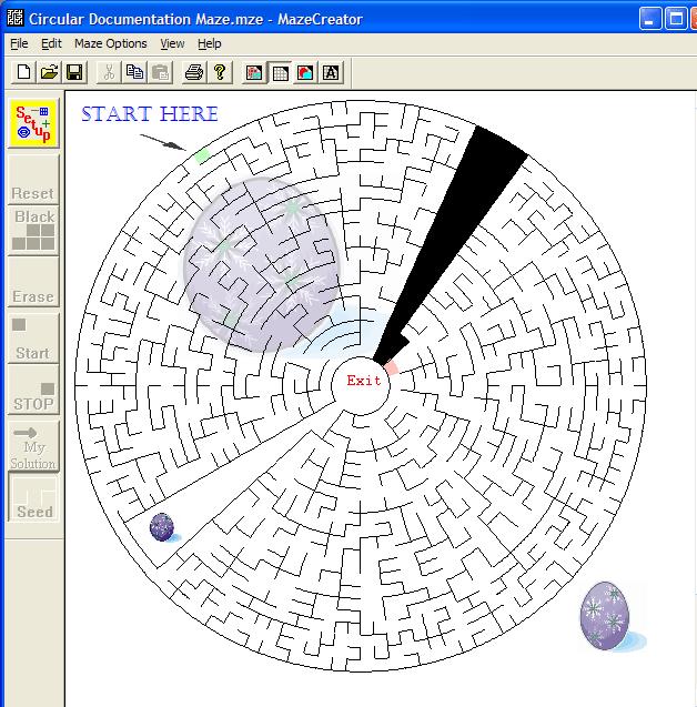 Maze Creator HOME Screenshot
