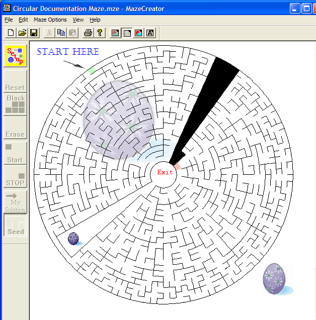 Free Maze Creator Screenshot 1