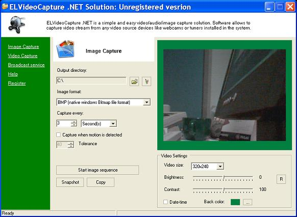 ELVideoCapure .NET Solution Screenshot 1