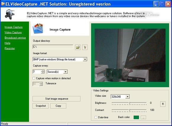 ELVideoCapure .NET Solution Screenshot 3