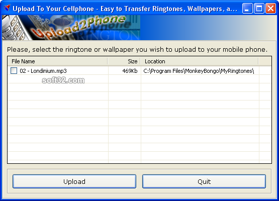 One Click Ringtones Screenshot 2