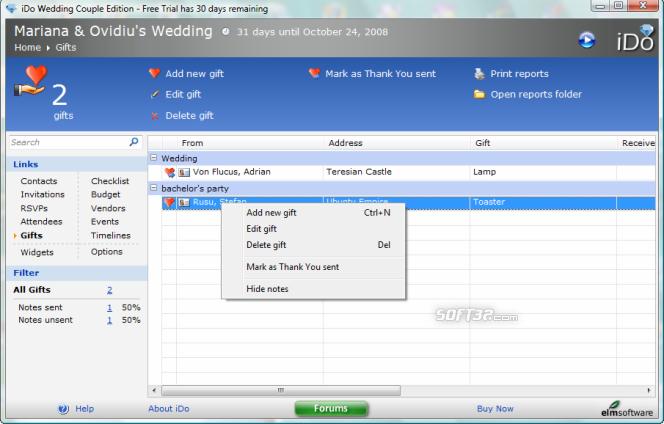 iDo Wedding Couple Edition Screenshot 4