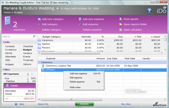 iDo Wedding Couple Edition Screenshot 5