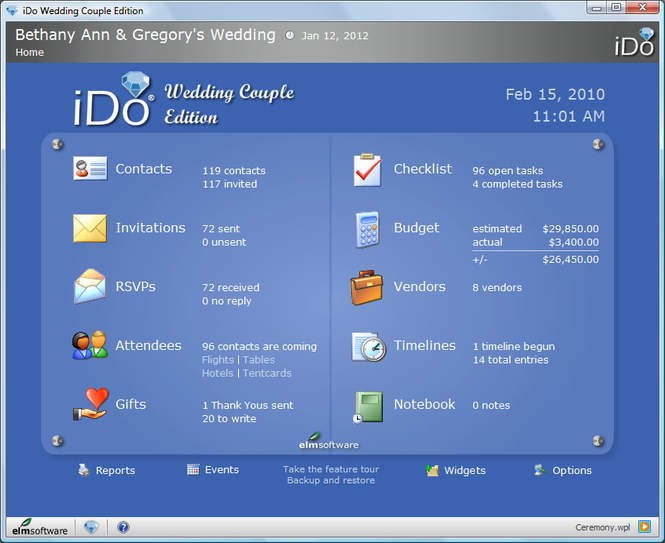 iDo Wedding Couple Edition Screenshot