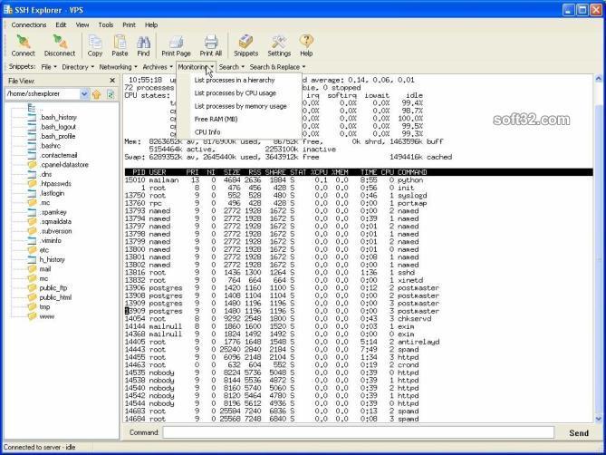 SSH Explorer SSH Client Screenshot 2