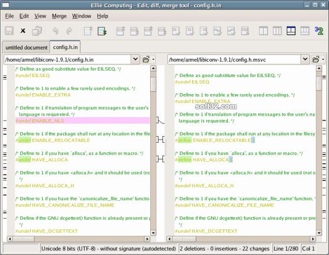 ECMerge Standard (Windows) Screenshot 2