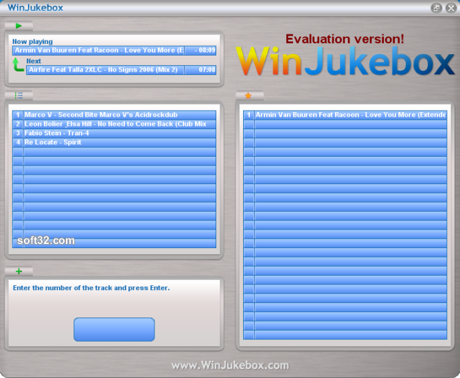 WinJukebox Screenshot 3