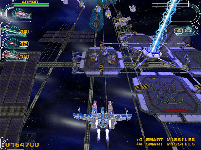 Hyperspace Invader Screenshot