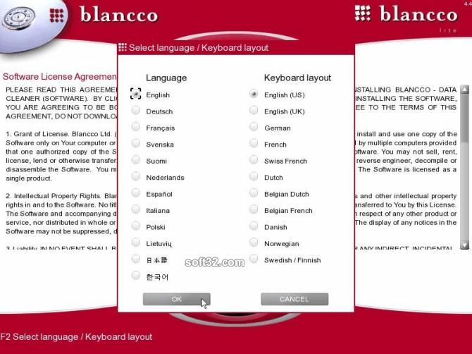 Blancco - Lite Screenshot
