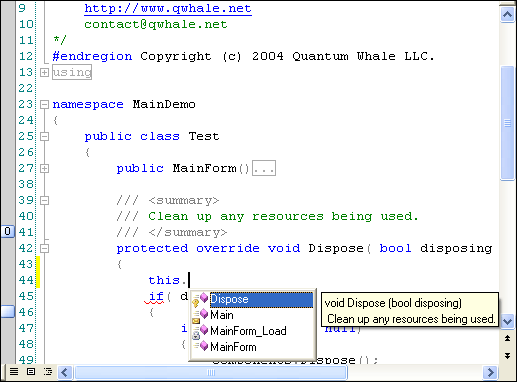Editor.NET Screenshot