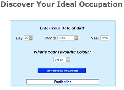Occupation Finder Screenshot