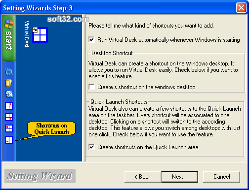 Virtual Desk Screenshot 4