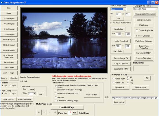 VISCOM Image SDK ActiveX OCX Screenshot 1