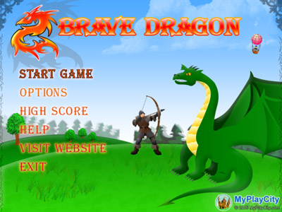 Brave Dragon Screenshot 1