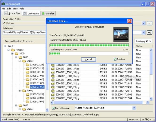 RoboImport Screenshot 3