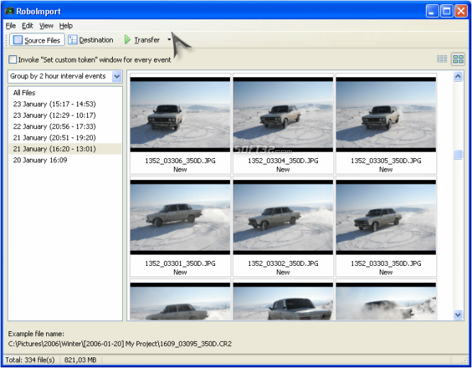 RoboImport Screenshot 4