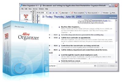 Alive Organizer Screenshot 2