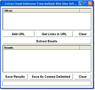 Extract Email Addresses From Multiple Web Sites Software 1