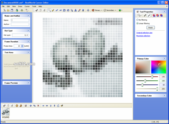 RealWorld Cursor Editor Screenshot 3