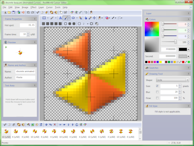RealWorld Cursor Editor Screenshot